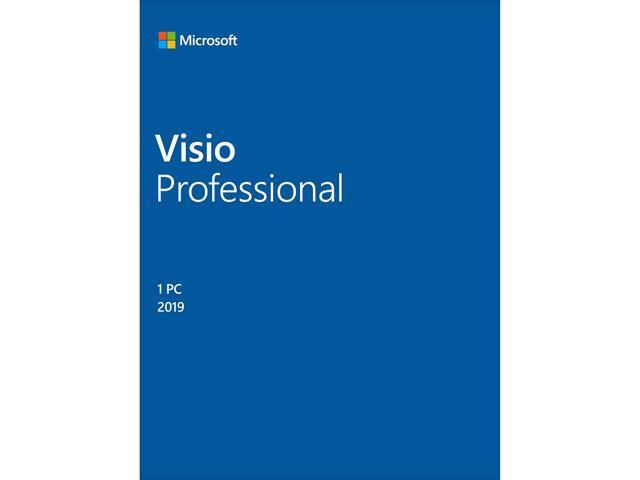 Microsoft Visio Professional 2019 / Windows 10 - Download - 1PC - Newegg com