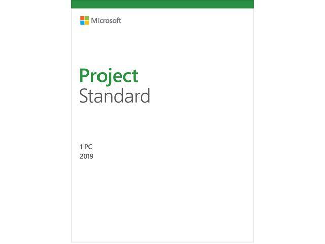Microsoft Project Standard 2019 / Windows 10 - Download - 1PC - Newegg com