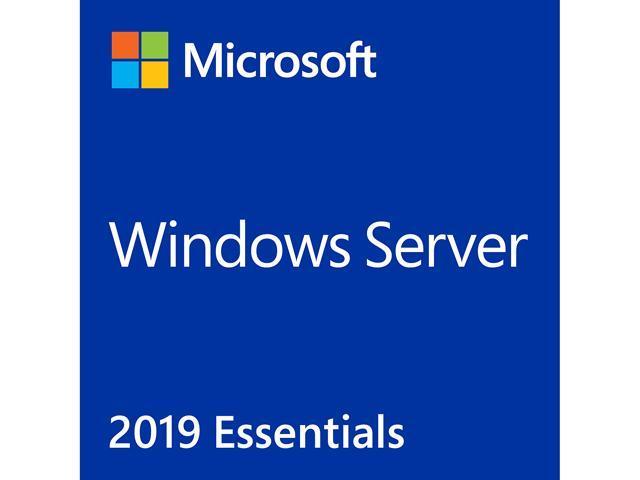 Windows Server 2019 Essential 64-bit - 1 Server, 2 CPU - Newegg com