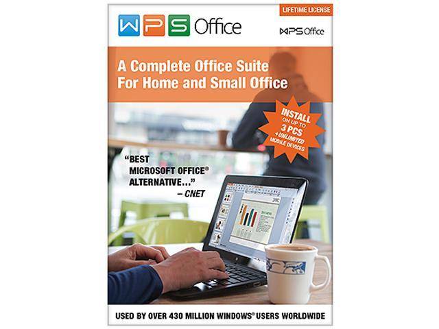 WPS Office 10 Business Edition - 3 PCs / Lifetime - Newegg com