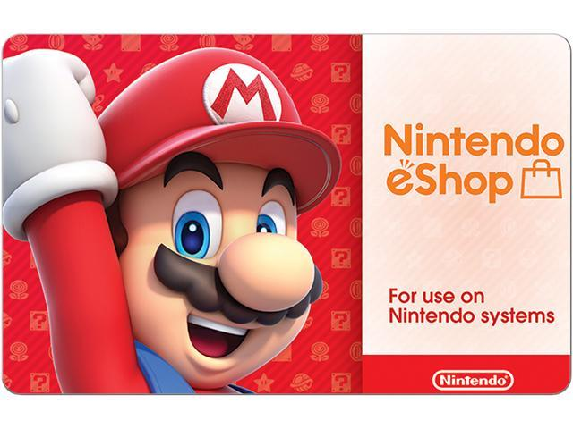 $50 Nintendo eShop Digital Card