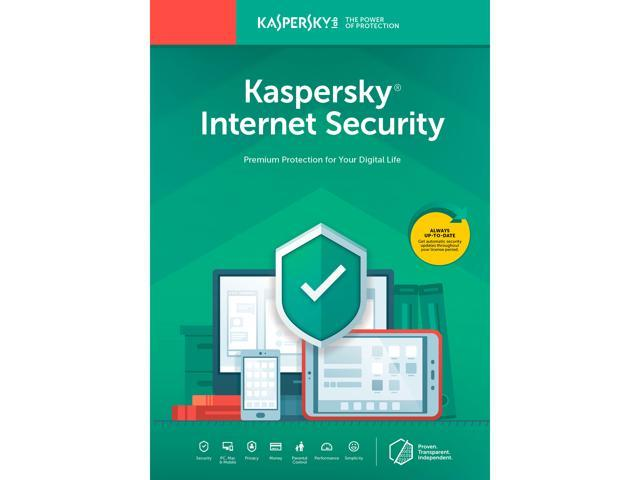 Kaspersky Internet Security 2019 - 3 Devices / 1 Year (Key Card) -  Newegg com