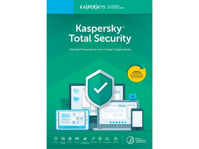 Kaspersky Total Security 2019 - 5 Devices / 1 Year (Key Card) - Newegg com