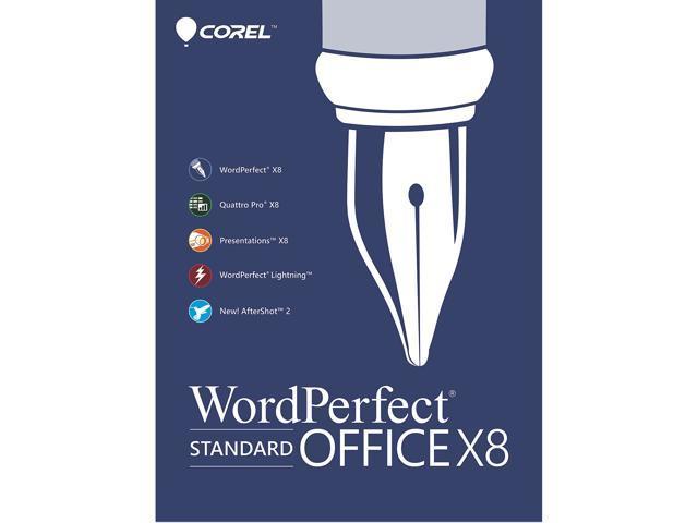 Standard WordPerfect Office X8