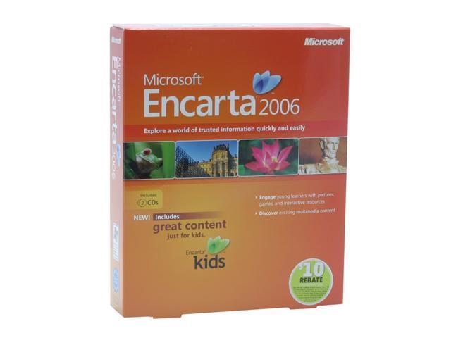 Microsoft Encarta 2006 Encyclopedia Standard - Newegg com