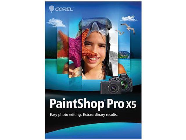 Cheapest Corel PaintShop Pro X5 width=