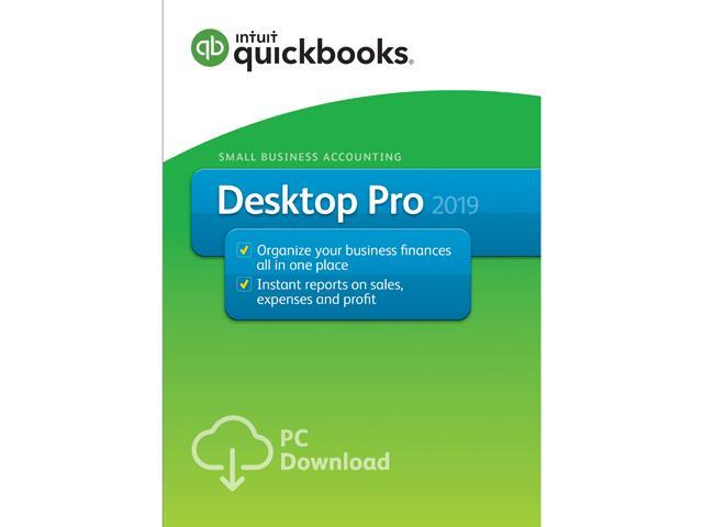 Intuit QuickBooks Desktop Pro 2019 - Download - Newegg com