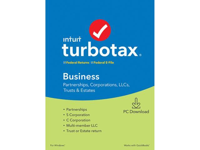 Turbotax 2020 Home And Business Download.Turbotax Business 2019 Pc Download