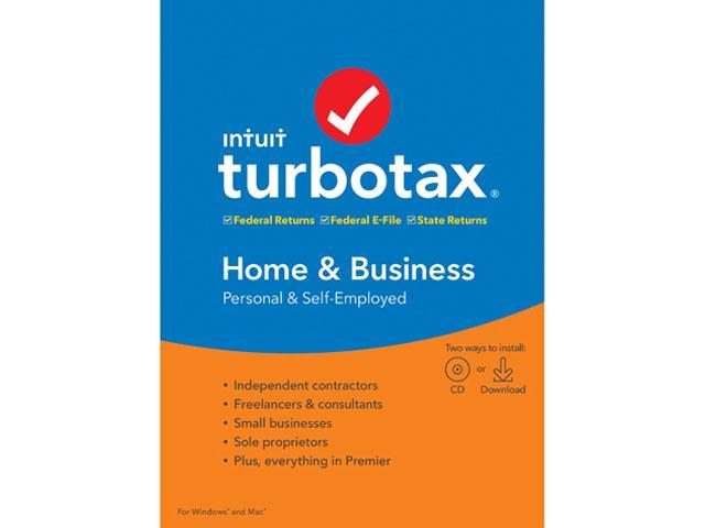 Turbotax Home Business State 2020.Intuit Turbotax Home Business 2019 Federal With State Efile For Windows Mac