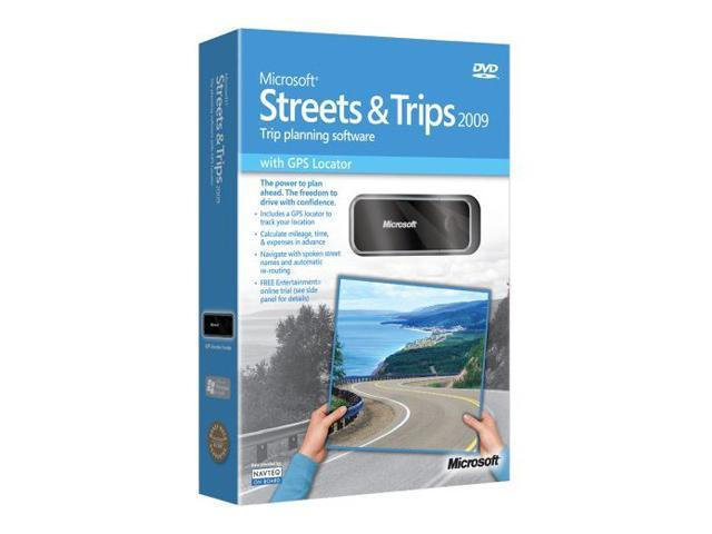 Microsoft Streets And Trips 2009 For Sale