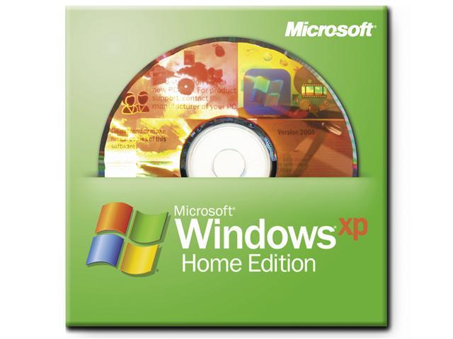 Microsoft Windows XP Home SP3 for System Builders