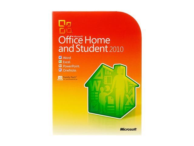 Microsoft Office 2010 Home Student 3 User