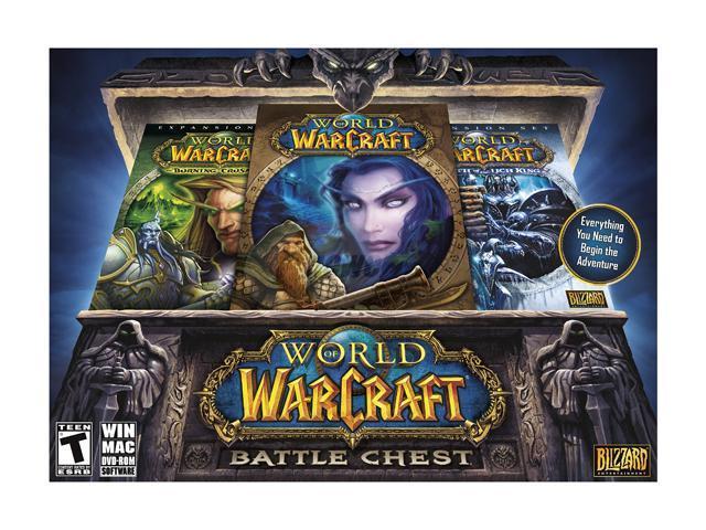 World of Warcraft: Battle Chest w/ Lich King PC Game - Newegg com