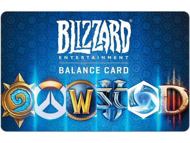 Blizzard $20 Gift Card (Email Delivery) - Newegg com