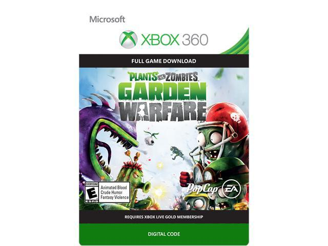 plants vs zombies garden warfare xbox 360 digital code - Plants Vs Zombies Garden Warfare Xbox 360