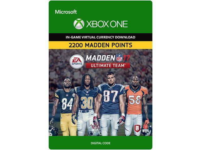 Madden NFL 19 MUT 1050 Madden Points Pack Xbox One Download Code