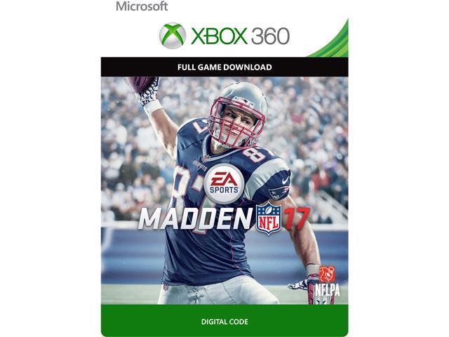 Madden NFL 17 XBOX 360  Digital Code  - Newegg.com 830fdc38bfa78