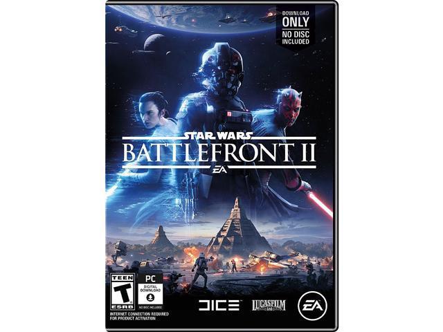 Star Wars Battlefront II - PC (Physical Key Code - No Disc) - Newegg com