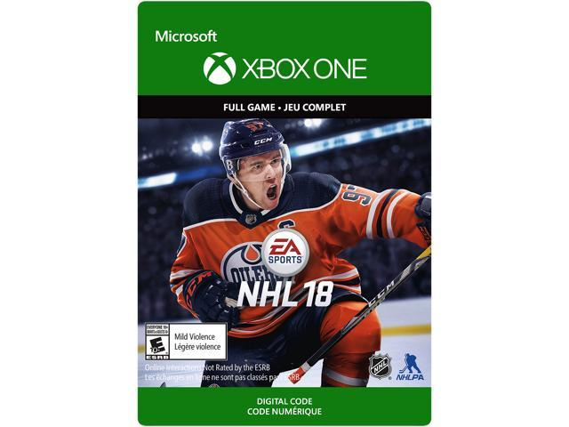 NHL 18 Xbox One [Digital Code] - Newegg com