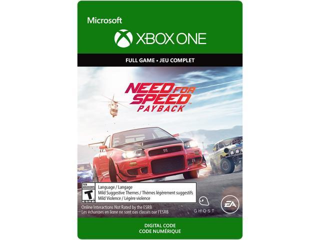 Need For Speed Payback Edition Xbox One Digital Code Newegg Com