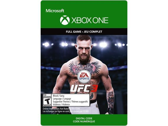 UFC 3 Xbox One [Digital Code] - Newegg com
