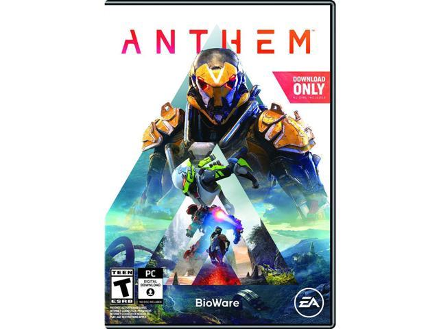 Anthem - PC (Physical Key Code - No Disc) - Newegg.com on fuse world, fuse box art, fuse demo review,