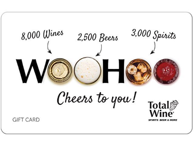 Total Wine & More $100 Gift Card