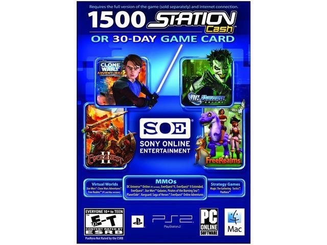 30 Day Universal Game Card/Station Cash PC Game - Newegg com