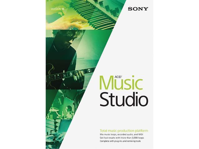 SONY ACID Music Studio 10 - Download - Newegg com