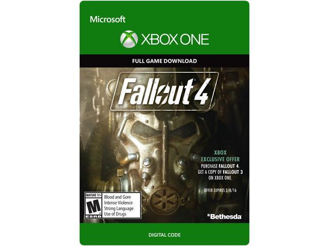 Fallout 4 XBOX One [Digital Code] - Newegg com
