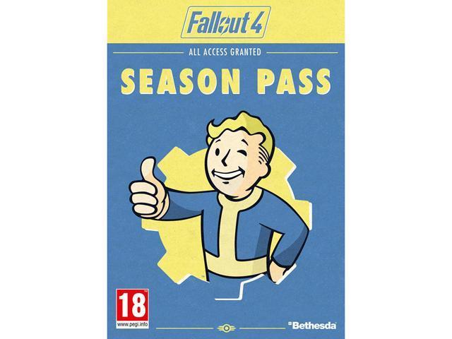 Fallout 4 Season Pass [Online Game Code] - Newegg com
