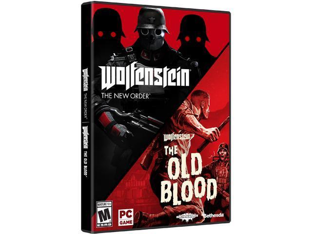 Wolfenstein The Two-Pack Bundle - PC - Newegg com
