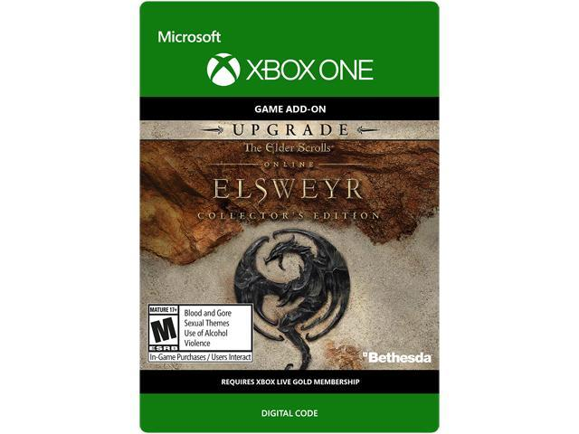 The Elder Scrolls Online: Elsweyr Collector's Edition Upgrade Xbox One  [Digital Code] - Newegg com