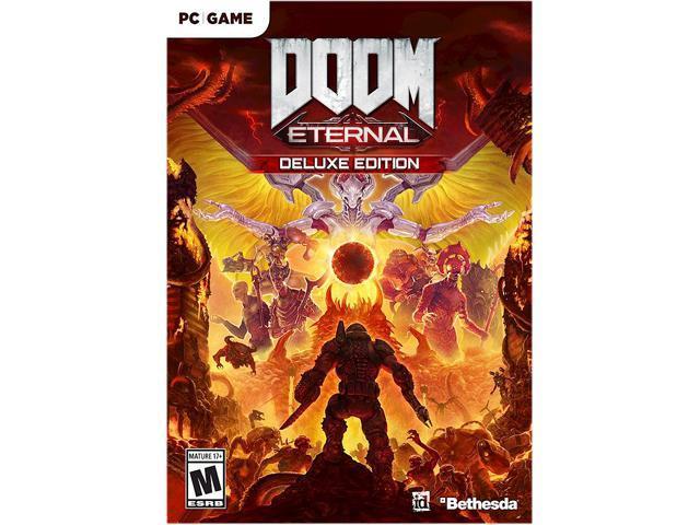 Doom Eternal Deluxe Edition Online Game Code Newegg Com