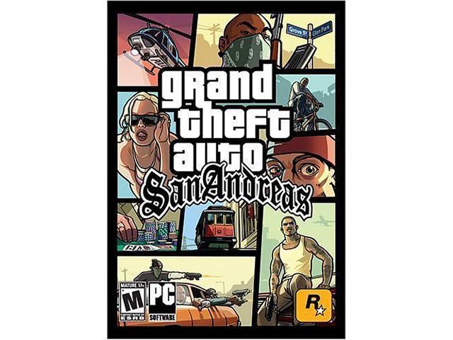 Grand Theft Auto: San Andreas [Online Game Code] - Newegg com