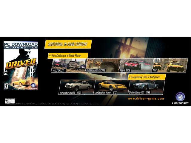 Driver San Francisco Deluxe Edition for Windows [Online Game Code] -  Newegg com