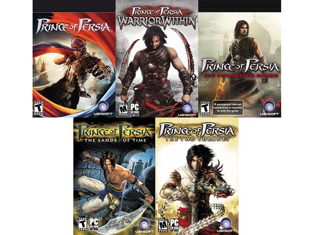 Prince Of Persia Power Pack Classic Warrior Within Forgotten