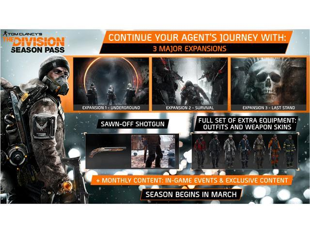 157be9709b1 Tom Clancy s The Division Season Pass  Online Game Code ...