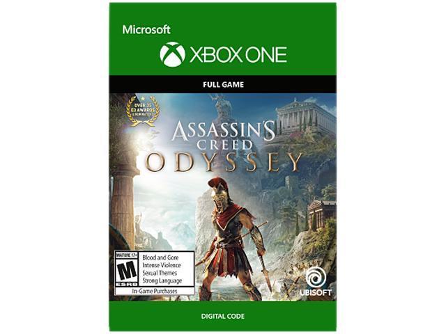 Assassin S Creed Odyssey Xbox One Digital Code Newegg Com