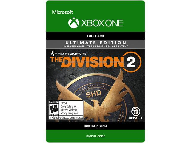 Tom Clancy's The Division 2: Ultimate Edition Xbox One [Digital Code] -  Newegg com