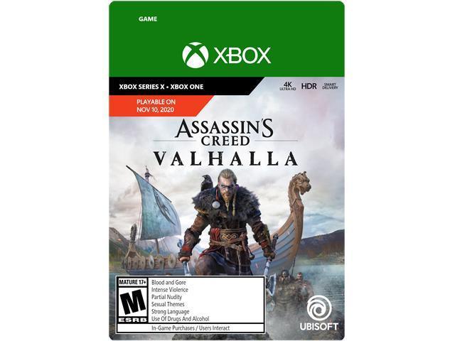 Assassin S Creed Valhalla Standard Edition Xbox Series X S Xbox One Digital Code Newegg Com