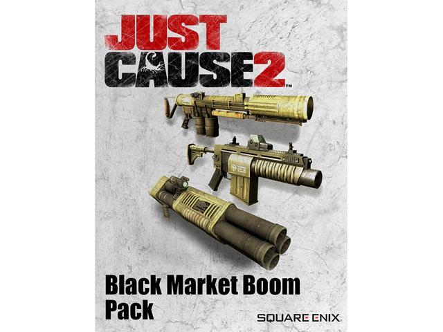 Just Cause 2: Black Market Boom Pack DLC [Online Game Code]