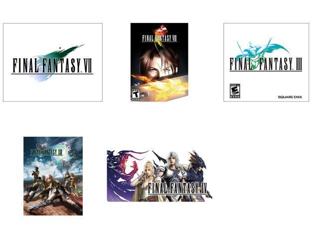 Final Fantasy Power Pack (III + IV + VII + VIII + XIII) [Online Game Codes]  - Newegg com