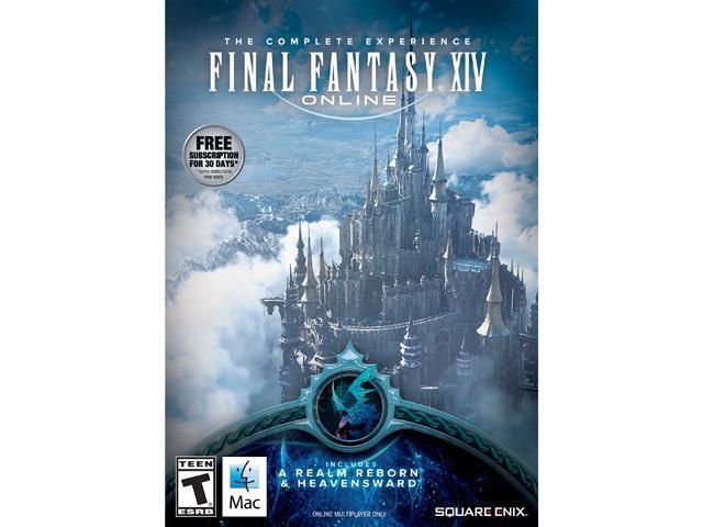 FINAL FANTASY XIV Online Bundle for Mac [Game Download] - Newegg com