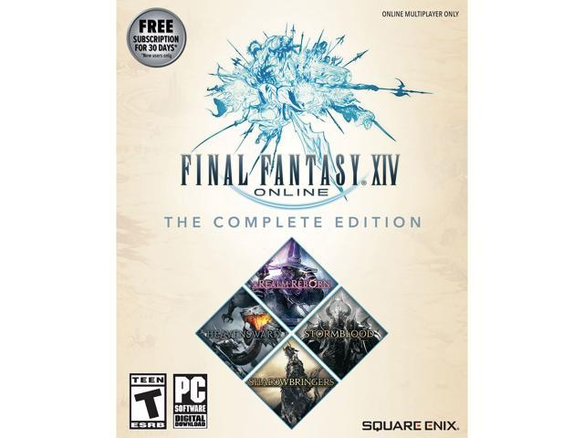 Final Fantasy XIV Complete Edition (2019 w/Shadowbringers) - [PC Download]  - Newegg com