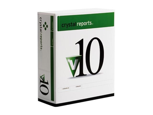 business objects crystal reports 10 professional win nul full rh newegg com crystal reports 10 user guide Crystal Reports 11 Guide