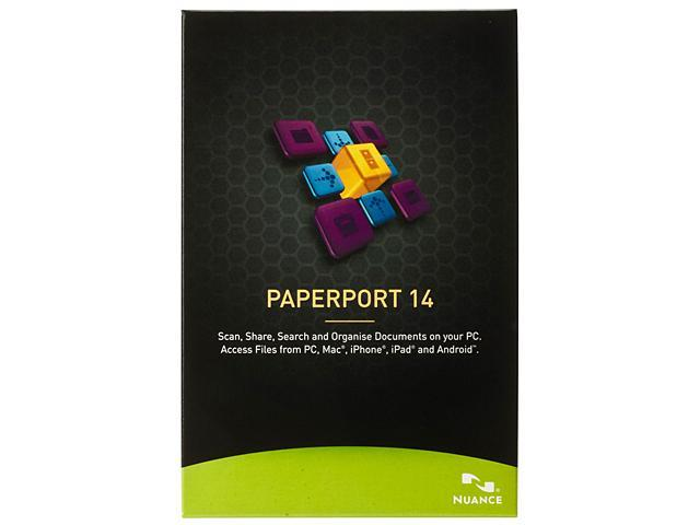 NUANCE PaperPort 14 - Newegg com