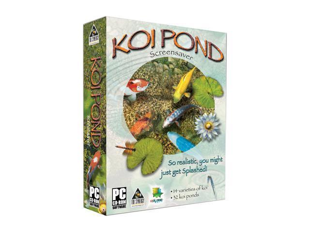 Tri synergy koi pond screensaver software for Koi pond screensaver