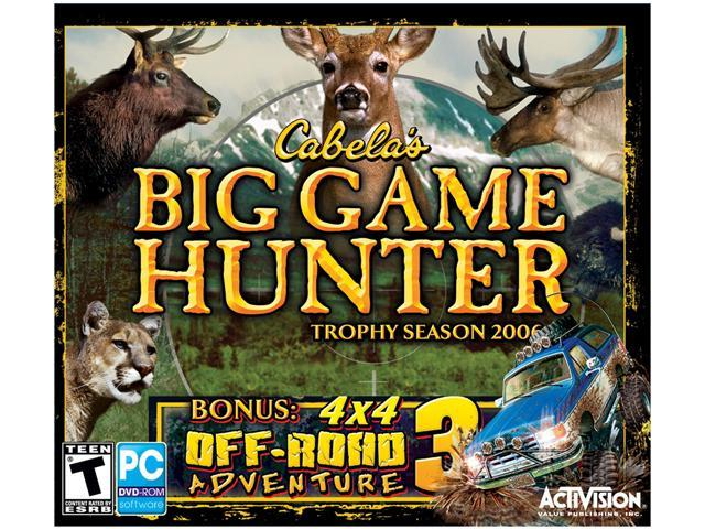 cabelas big game hunter 2006 trophy season скачать