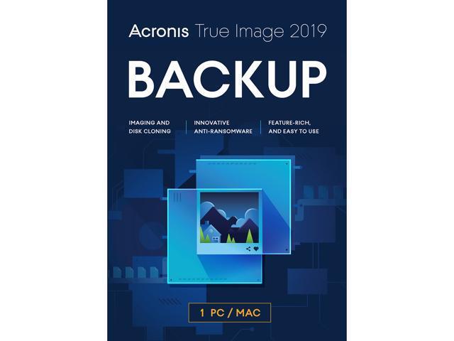 Acronis True Image 2019 - 1 Computer Backup & Utilities